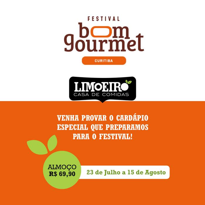 Festival Bom Gourmet - Restaurante Limoeiro Curitiba